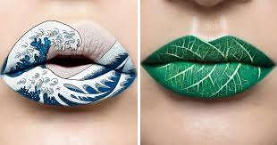 makeup artist turns her lips into stunning works of art 10 pics bored panda