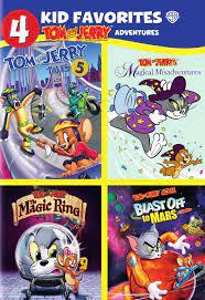 4 Kid Favorites: Tom and Jerry Adventures [4 Discs] [DVD] - Best Buy