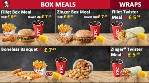 How To Design A Digital Menu Board Kfc Digital Menu Board Design Dijital Menü Tasarımı Kfc