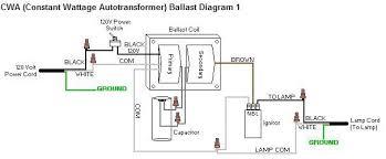 hid ballast wiring diagrams for metal halide and high pressure how to test metal halide ignitor at Metal Halide Lamp Ballast Wiring Diagram