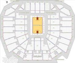 bok basketball arena plan center seat u row numbers detailed seating