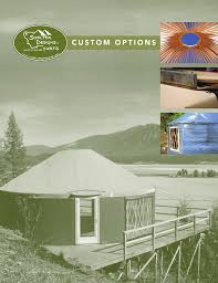 Shelter Designs Yurts Custom Options Shelter Designs Yurts Manualzz Com