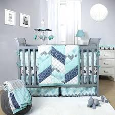 elephant crib set boy baby