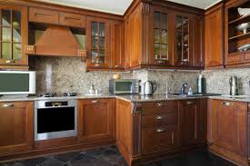 remove an odor from wooden cabinets