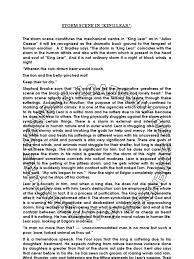 king lear essays shakespeare s king lear study guide connell  storm scene in king lear king lear