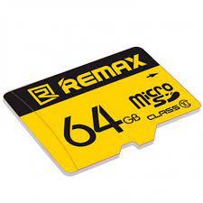 Thẻ nhớ Micro SD Remax 64GB tốc độ Class 10- Hàng chính hãng - Thẻ nhớ máy  ảnh