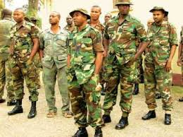 Image result for Armed men ambushed and killed four soldiers in the Ekeremor waterways area of Bayelsa State