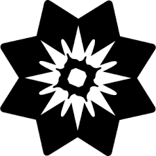 Download free Flower with <b>triangular petals</b> icon