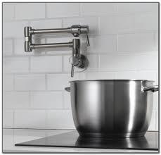 Kitchen Pot Filler Faucets Deck Mount Pot Filler Kitchen Faucet Decks Home Decorating