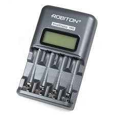 Зарядное устройство <b>Robiton</b> Smart Display 1000 BL1 унив. для ...