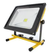 Commercial Electric 30 Led Handheld Work Light Abn Led Flood Light 50w Rechargeable Portable Worklight 12v