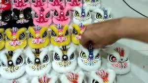Topeng kepala kepala barongsai/mata nyala. Mini Lion Dance Cup Size Kepala Barongsai Youtube