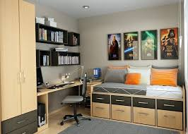 home office bedroom combination. Bedroom Office Ideas Small Home Guest Room Combination Design Super Tiny