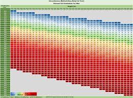 Body Fat Conversion Chart The Supreme Guide To Body Fat Percentage With Pictures Charts