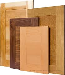 Real Wood Kitchen Doors Mdf Core Flat Panel Cabinet Doors Vs Solid Wood Panel