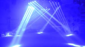 Blue Stage Lighting Pro Dj Disco Event Lighting 4x32w Rgbw 4in1 Led 4heads Dmx Sharp Dj Beam Bar Moving Head Stage Lights For Stage Equipment Set View Led Stage Light