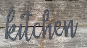 1 on wall art for kitchens metal with metal kitchen signs farmhouse wall decor metal words rustic wall