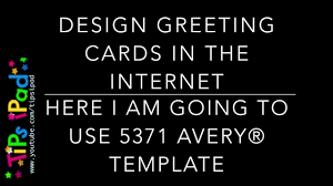 Avery Greeting Cards Make Greeting Cards In The Internet With Avery Online App