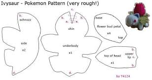 Pokemon Plush Patterns