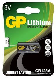 """<b>Батарейка</b> литиевая """"<b>GP</b> Batteries"""", тип <b>CR123</b> (CR17345), 3В ..."""