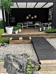 creating a zen garden using outdoor