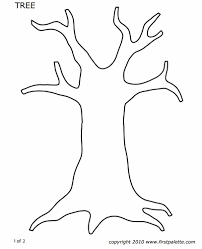 Template Tree Printable Tree Templates Magdalene Project Org