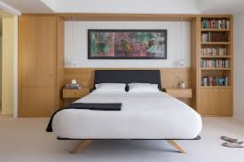 small master bedroom ideas. 22. Built-in Wardrobe And Shelving Around The Bed Small Master Bedroom Ideas