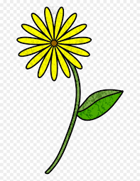 Paper Flower Templates Free Download Flower Stem Template Daisy Paper Flower Template Free