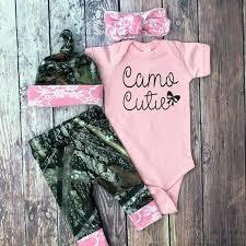 Baby Girl Camo Clothes