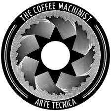 machinist logo. the coffee machinist logo
