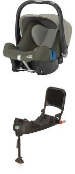 britax römer infant car seat baby safe plus shr ii including isofix base olive green