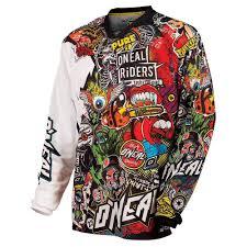 Oneal Ski Jackets Size Chart O Neal Mayhem Crank Jersey