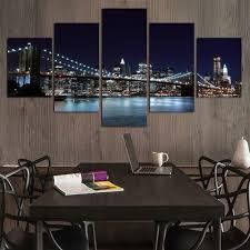 >panel art multi panel wall art on canvas bigwallprints  new york city skyline