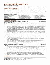 Powerful Resumes Samples Sample Of Good Resume Beautiful Attorney Resume Samples Template 12