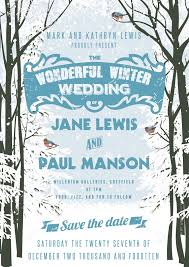 Winter Wedding Save The Date Winter Wedding Save The Dates Tirevi Fontanacountryinn Com