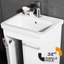 porcelain vanity top. Plain Top Clifton Bathroom Vanity Top Porcelain U0026 Sink 32 Throughout N
