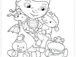 Printable Doc Mcstuffins Coloring Pages Outstanding Doc Coloring