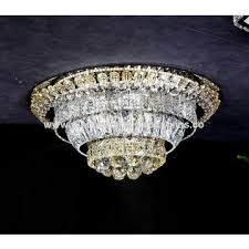 china 2018 new led decoration circle lamp indoor k9 crystal chandelier hanging light