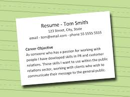 Objectives In Making Resume Smartness Ideas Objectives To Put On A Resume 24 Best Career Write In 10