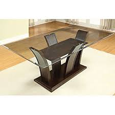 dining table design with glass top. dining room tables trend table round and rectangular glass top design with