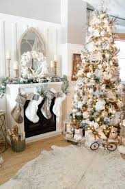 how to decorate a tree rustic glam
