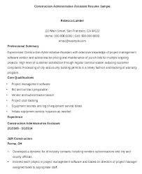 Program Manager Resume Samples Unique Construction Office Manager Resume Example Of Admin Medical