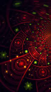 Download Fractal, patterns, glowing ...