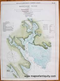 Antique Maps And Charts Original Vintage Rare Historical