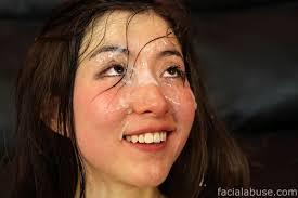 White girl asian abuse