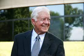 Früherer US-Präsident Jimmy Carter wird ...