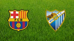 Resultat d'imatges de LOGOS FC BARCELONA VS MÁLAGA