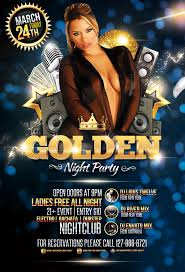 golden night party flyer template by louistwelve design on golden night party flyer template by louistwelve design