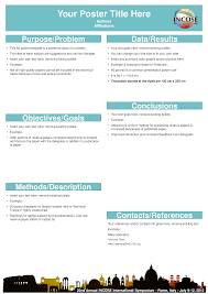 Powerpoint A0 Poster Template Research Poster Template Free
