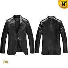leather blazer for men cw840802 cwmalls com